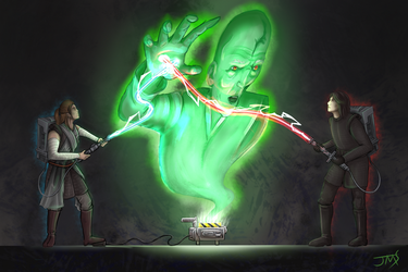 Contest Prize: Cross the Beams! by xHybridus