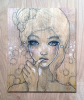 Hollow Tears :Painting: by lavonia