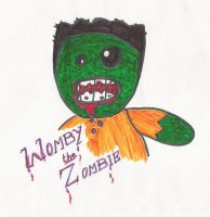 Womby the Zombie by cocojedi