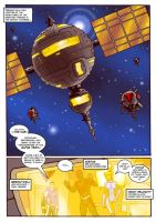 Thunder Force Alpha: Issue 1 pg 1 by Kostmeyer