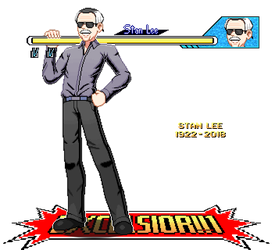 Stan Lee Diorama Tribute by ScepterDPinoy