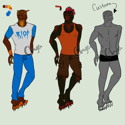 Open Paypal/Point Anthro Adopts by Chyrablisterus