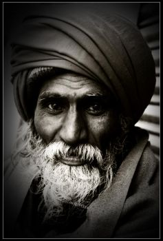 A oldman.. by sumitupadhyay