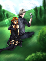 ::COMM:: Faeyra X Ignis by The-WinterRose