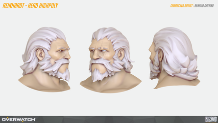 Reinhardt Head by Guntharf