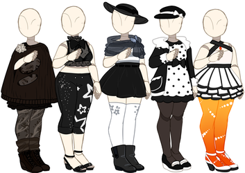 Outfit Adopts [CLOSED] by Death2Eden