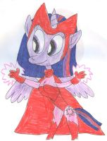 Marvel Ponies: Scarlet Witch Twilight by SithVampireMaster27