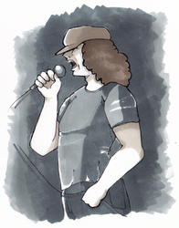 Brian Johnson by Diesukee
