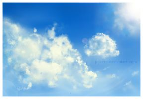 For blue skies by Jeyerre