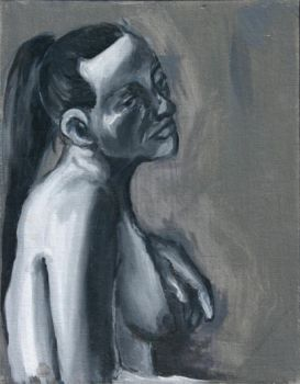 portrait study of a nude by BearBearCreative