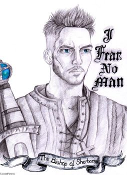 Day 29-Heahmund Bishop of Sherborne .Vikings by LicamtaPictures