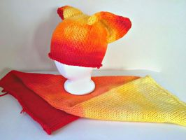 Sunfire Hat and Solar Flare Blank by aetherfang