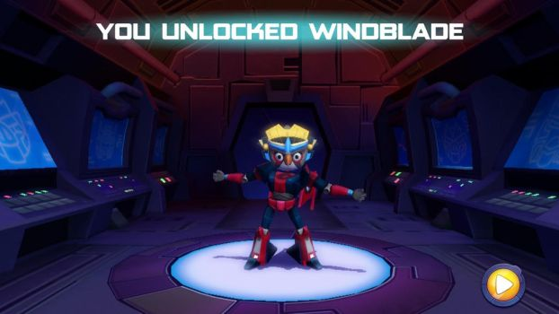 Angry Birds Transformers Silver as Windblade by TDManiacXC626