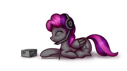 [Commission] Velvet R. Wings - Cutie-H Equestria by AdagioString