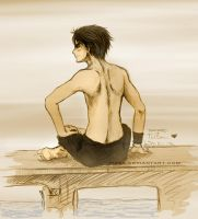 OP - Luffy for Asami by Pikka