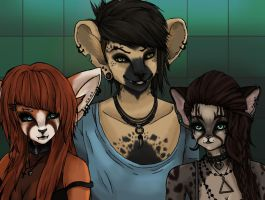 Furry Group by Lawlicat