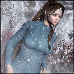 Christmas Sweater - Let It Snow by Childe-Of-Fyre