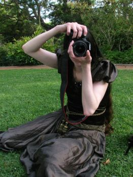 Me taking picture of... by aelthwyn