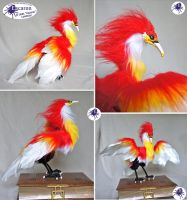 Bird of Flame - Posable Doll (for Sale) by Escaron