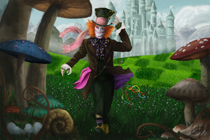 Mad Hatter by Claudiatjuh