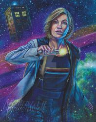 13th Doctor by MonicaRavenWolf
