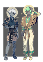 Adopts 106-107 [Auction - Open] by sandflake-adoptables