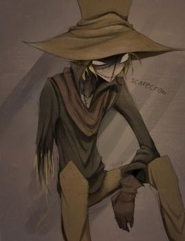 Scarecrow Doodle by Meammy