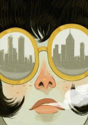 Big Big Apple (Print available now) by erilu