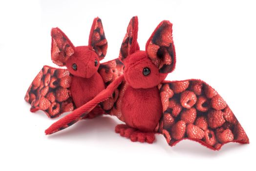Raspberry Fruit Bats by BeeZee-Art