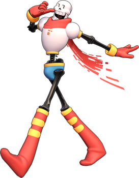 MMD SN-SDver Undertale Papyrus 3d Model Preview2 by 495557939
