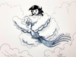 Day 19. Cloud by AriaPrime
