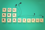 You Are Beautiful by Kezzi-Rose