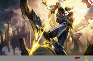 Arclight Varus Splash Art by Concept-Art-House
