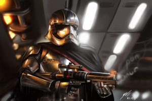 Captain Phasma - Digitalpainting by vurdeM