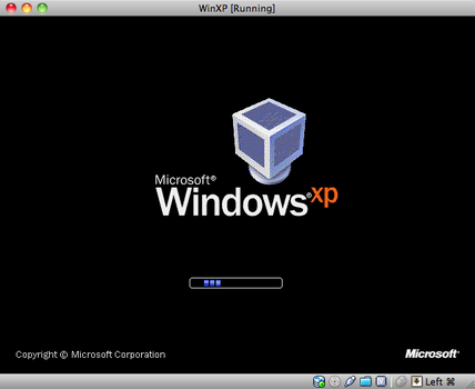 VirtualBox Boot Splash for XP by 2600rat