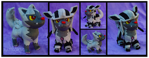 Hoodyena Custom Plush by Nazegoreng
