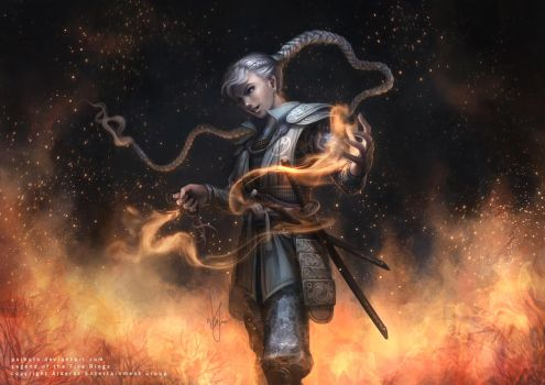 L5R - Daidoji Scary Water Walker by poibuts
