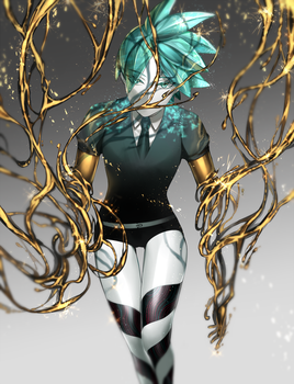 Phosphophyllite by UltraCat7724