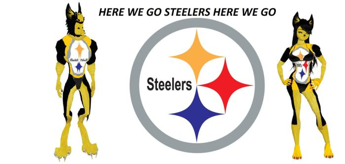 Here WE Go Steelers by dragonzero1980