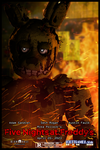 School Photoshop Project: FNaF Movie Poster by TF541Productions