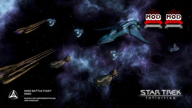 Star Trek: Infinities - Xindi Fleet by UndyingNephalim