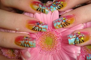 Nail art by marieclaire1990