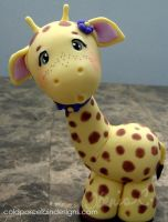 COLD PORCELAIN GIRAFFE by i-be-c