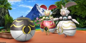 [MMD Pokemon] Download- Magearna by Kinishan