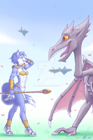 Krystal and Ridley - Textless by Atticus-Kotch