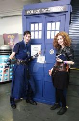 River Song THORS cosplay at LFCC 2018 - V by ArwendeLuhtiene