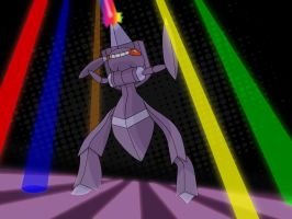 Genesect Used Techno Blast