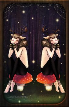 deer dance - colored by moral-extremist
