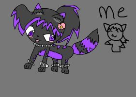 Me in a kitty form by GaaraFangirl112