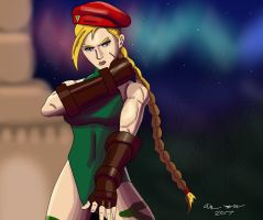 Cammy Speed Painting by AllenThomasArtist